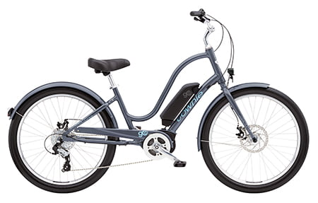 Electra Townie Go! 8D Step-Thru Cosmic Grey 2019