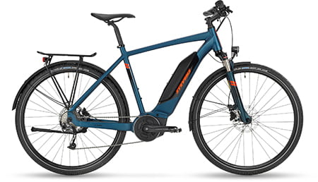 Cross-E-Bike, Stevens E-4X Tour Gent Moonlight Blue 2020