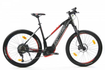 Corratec E-Power X Vert Pro Team 650B grey brown neonyellow black 2019 - 500Wh 27,5